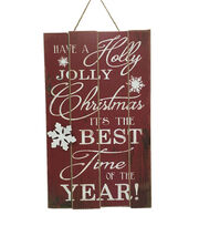 Maker's Holiday Best Time of the Year Wall Decor, , hi-res