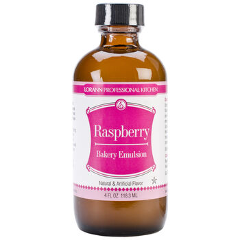 Lorann Oils Bakery Emulsions Natural & Artificial Flavor Raspberry