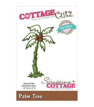 "CottageCutz Petites Die 1.6""X2.5""-Palm Tree"
