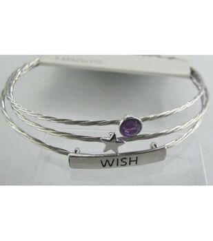 Bangle Expressions Silver Bracelet Assortment 274