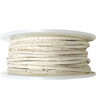 """3 3/8""""x100yd Cotton Piping-Natural"""