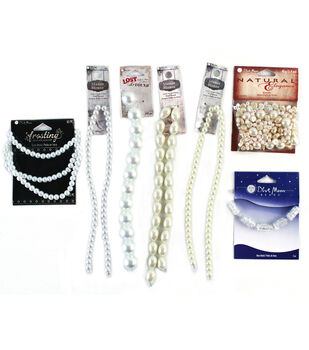 Blue Moon Beads Jewelry Assortment Value Pack White Ivory