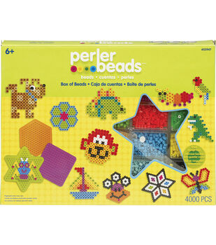 Perler Fun Fusion Fuse Bead Activity Kit-Box Of Beads