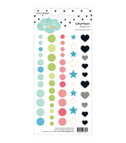 Webster's Pages These Are The Days 56pcs Enamel Dots, , hi-res