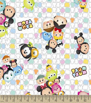 Tsum Tsum Patterned Print Fabric, , hi-res
