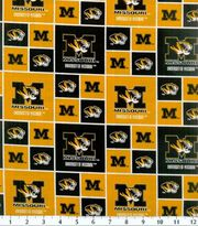 University of Missouri NCAA  Cotton Fabric, , hi-res