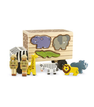 Melissa&Doug Animal Rescue Shape-Sorting Truck