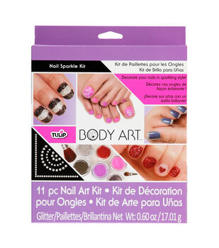 Mf Multi Body Art Nail Sparkle Kit