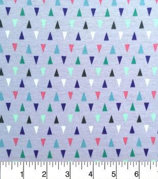 Doodles Juvenile Apparel Fabric-Mini Triangles Interlock