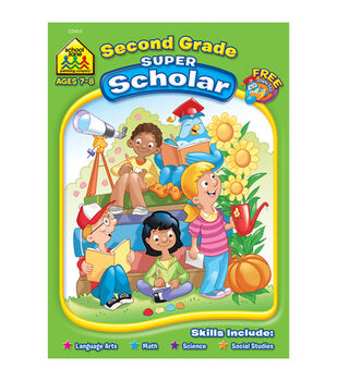 Super Scholar Workbook-Second Grade