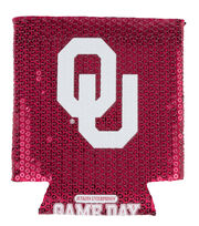 University of Oklahoma NCAA Sequin Koozie, , hi-res