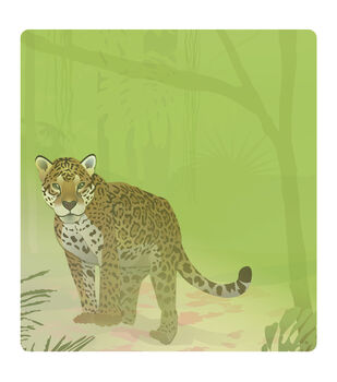 Busy Kids Learning Large Notepad-Jaguar