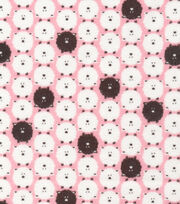 Cloud 9 Premium Cotton Fabric-Dolittles Sheep Pink, , hi-res