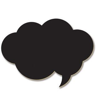 Adorn-It Chalkboard Surfaces Cloud Bubble
