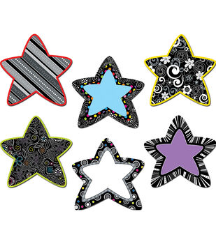 "BW Stars 6"" Designer Cut-Outs"