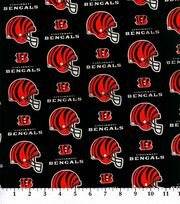 Cincinnatti Bengals NFL Cotton Fabric by Fabric Traditions, , hi-res