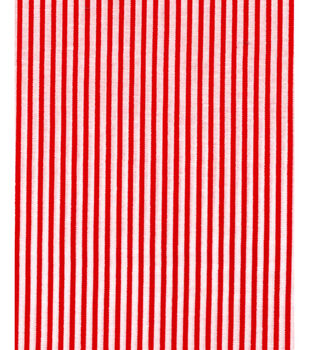Noel Collection-Christmas Red Stripe