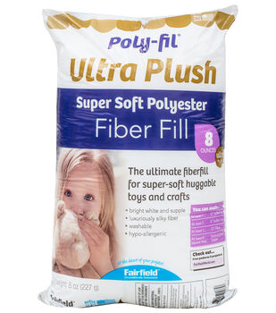 Poly-Fil Supreme® Ultra Plush Fiber Fill 8 ounce Bag