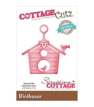 "CottageCutz Petites Die 2.5""X2.1""-Birdhouse"