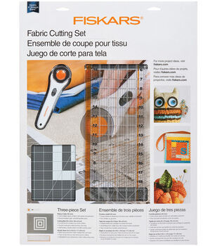 Fiskars Rotary Cutting Set 3 Per Package