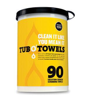 "Tub O' Towels 10""X12"" 90/Pkg-"