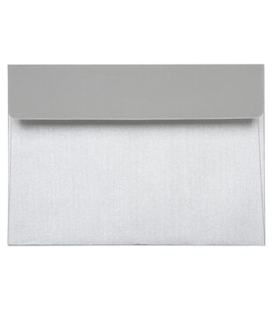 Core'dinations Envelopes:  A7 Silver Pearl; 20 pack