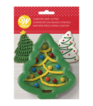 "Comfort-Grip Cookie Cutter 4""-Christmas Tree"