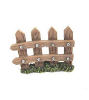 Fairy Garden Resin Picket Fence, , hi-res