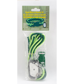 Signal Mirror Bracelet Kit