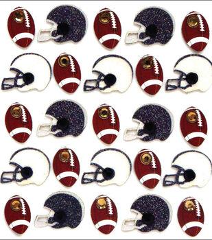 Jolee's Boutique Dimensional Mini Repeats Stickers-Footballs And Helmets