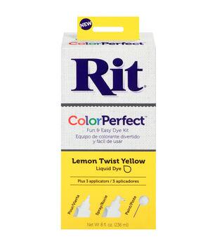 Rit ColorPerfect Dye Kit-Lemon Twist Yellow