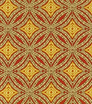 Home Decor 8''x 8'' Fabric Swatch Print Fabric-Tommy Bahama Sun Swirl Nutmeg