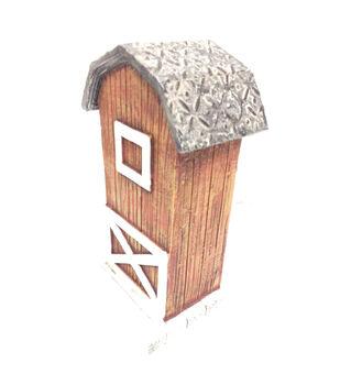 Fairy Garden Mini Wood Barn