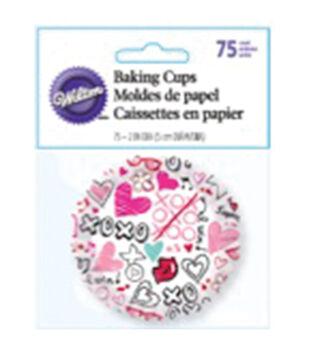 Wilton® Standard Baking Cups-Spread Love & Sprinkle Kindness 75/Pkg