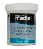 Media Varnish 4oz-Soft Touch, , hi-res