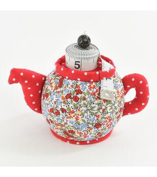 Fw21 Pincushion Teapot W Tape Measure