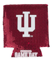 Indiana University NCAA Sequin Koozie, , hi-res