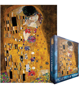 Euro Graphics Jigsaw Puzzle Klimt-The Kiss (der Kuss)