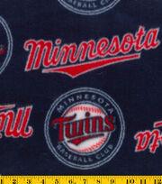 Minnesota Twins MLB Tossed Fleece Fabric, , hi-res