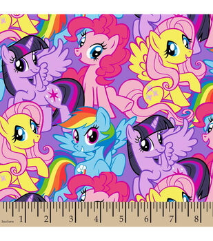 Hasbro® My Little Pony® Packed Ponies Cotton Fabric