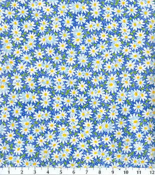 Keepsake Calico™ Cotton Fabric-Packed Daisy Blue