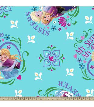Disney Frozen Sisters Hero Micro Fleece