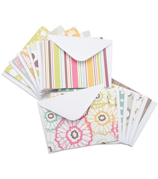 American Crafts A2 Cards with Envelopes 40/Box-Marvelous
