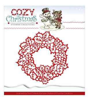 Yvonne Creations Cozy Christmas Die-Wreath