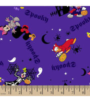 Halloween Cotton Fabric-Mickey Spooky, , hi-res
