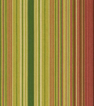 Waverly Sun N Shade Outdoor Fabric-Serene Stripe Cinnabar