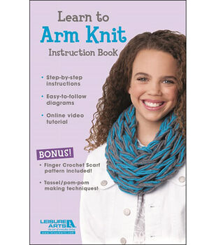Learn To Arm Knit For Kids Kit