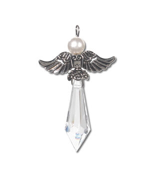 Angel Charm 2 In Ant Silver