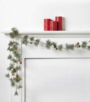 Blooming Holiday 66'' Pinecone Ice Garland, , hi-res