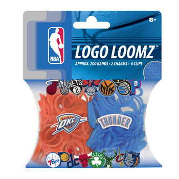 Forever Collectibles Logo Loomz Filler Pack Oklahoma City Thunder
